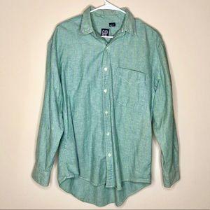 Vintage GAP men's Button Down dress Shirt Size M